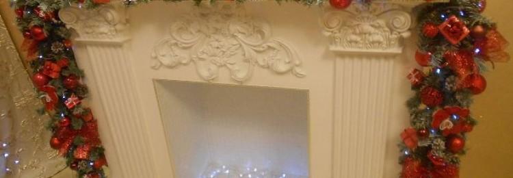 Камин из картона своими руками на Новый год: пошаговая инструкция по созданию магического атрибута праздника (34 фото)