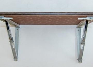 Откидной стол с креплением к стене: популярные виды и их особенности (57 фото)