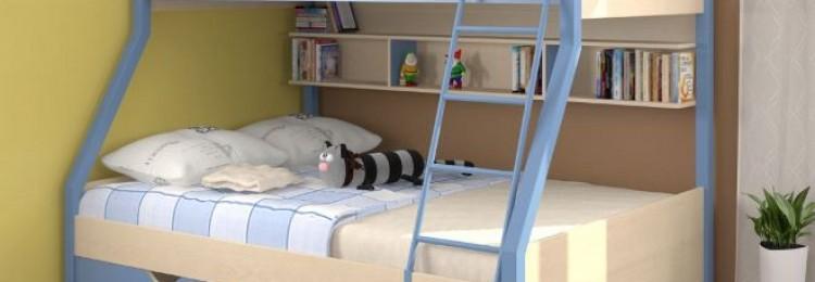 Детские двухъярусные кровати: виды, материалы изготовления, дизайн (76 фото)
