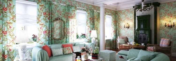 Гостиная в стиле прованс: особенности и нюансы (87 фото)