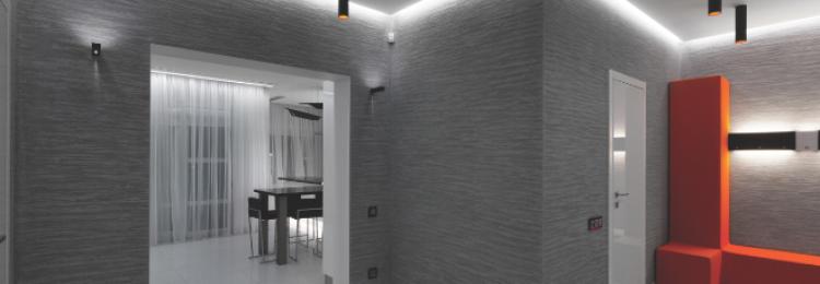 Декоративная штукатурка в интерьере коридора (30 фото)