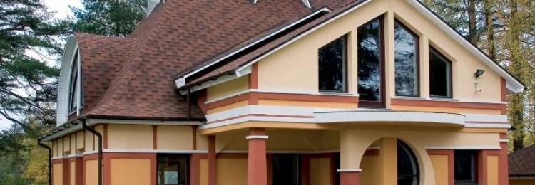 Крыши домов: разновидности, фото проектов (84 фото)