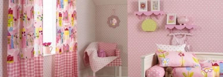 Шторы в детскую комнату для девочки: оригинальные и практичные решения (83 фото)