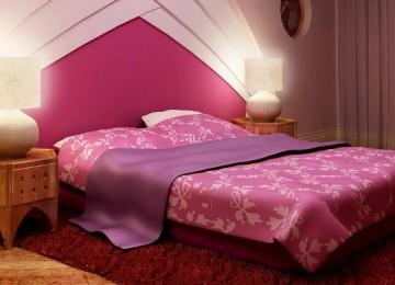 Дизайн спальни в розовом цвете: фото, популярные оттенки (25 фото)