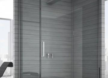 Душевая перегородка из стекла для ванной: интересные идеи для санузла в квартире (28 фото)