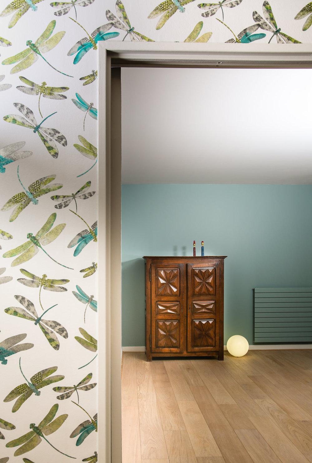 Дизайн обоев для однокомнатной квартиры бумажные