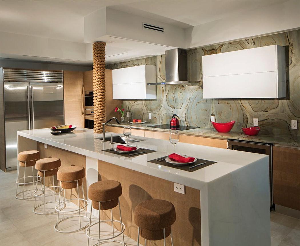 Бюджетный ремонт в однокомнатной квартире в коричневом цвете