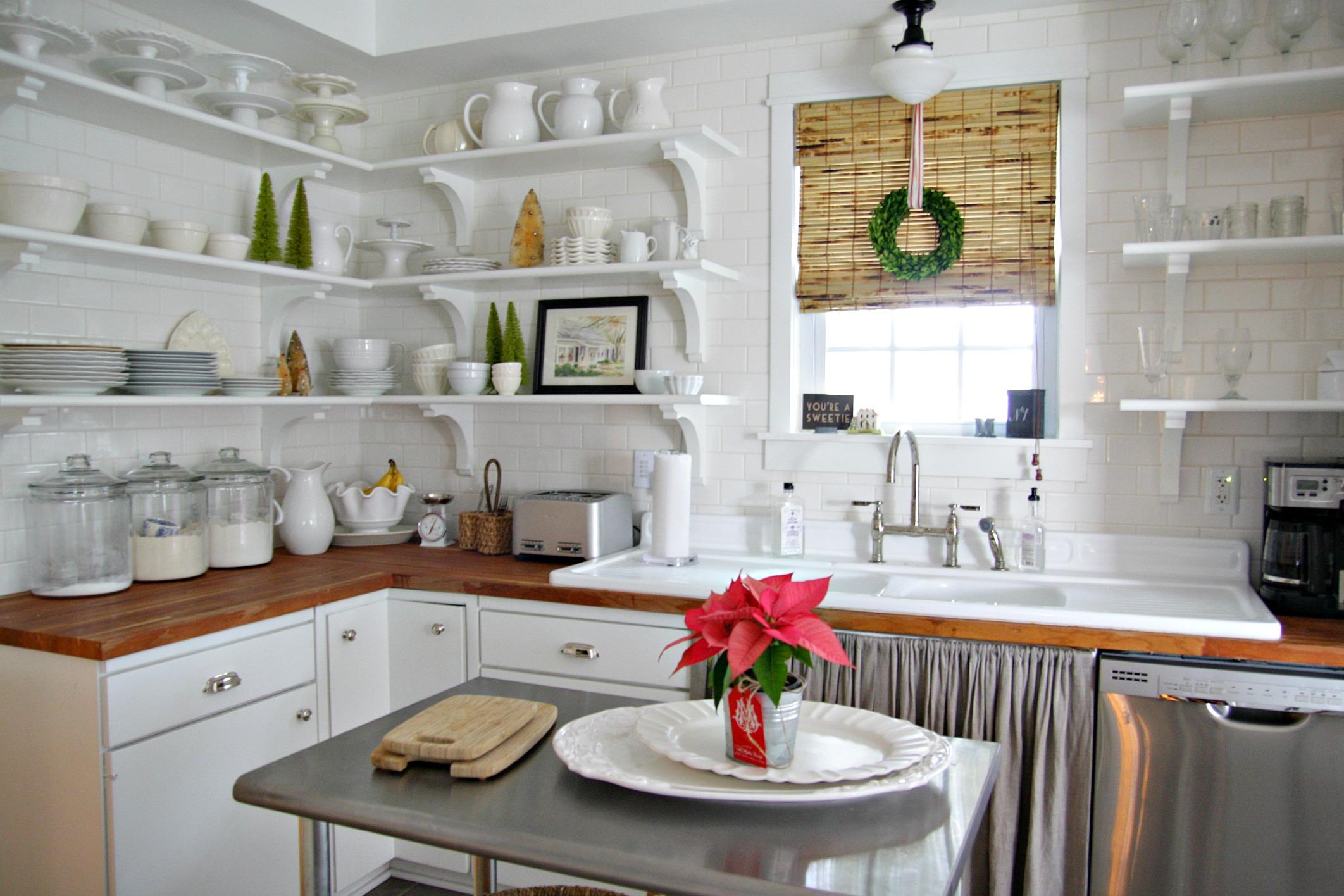 Дизайн штор для кухни из бамбука