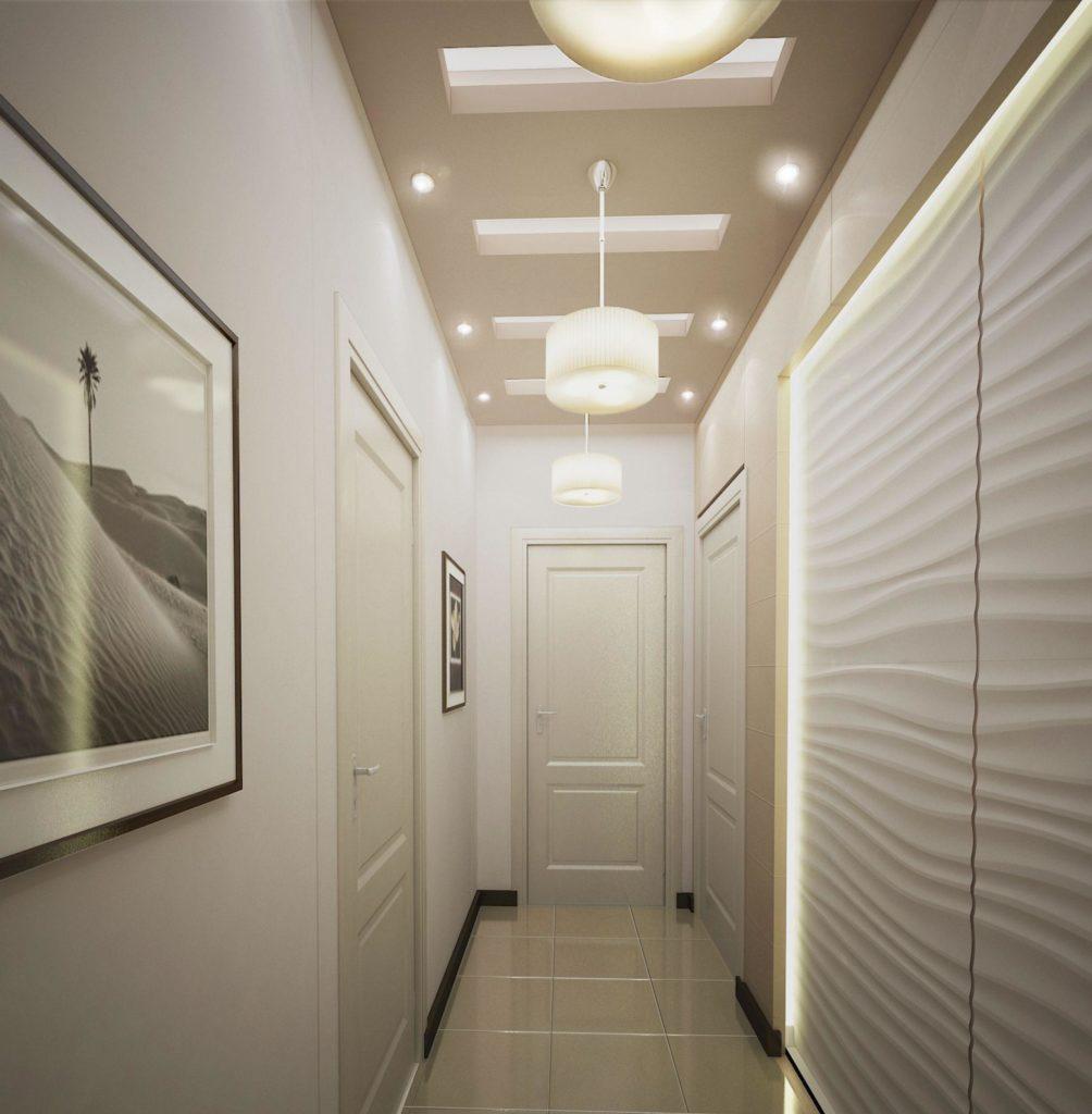 освещение прихожей в квартире фото побережье оборудован