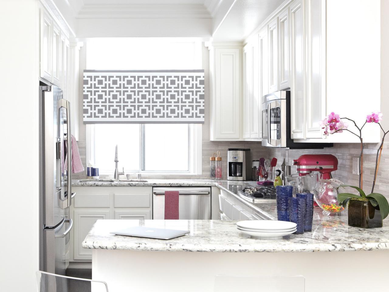 Дизайн штор для кухни декоративных