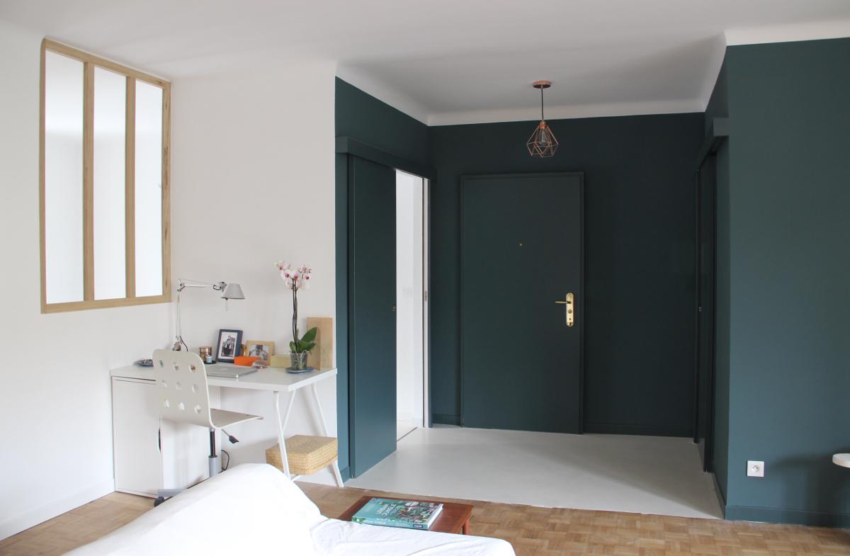 Бюджетный ремонт в однокомнатной квартире в лаконичном стиле