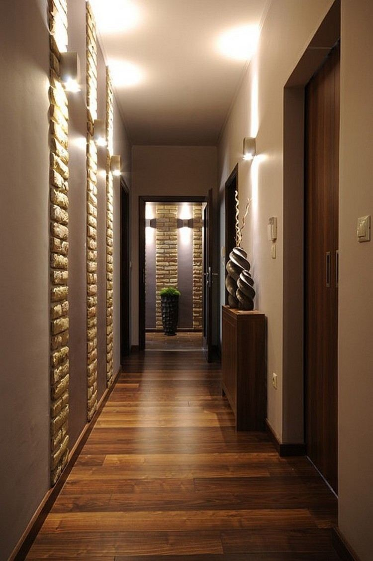 Дизайн освещения в прихожей