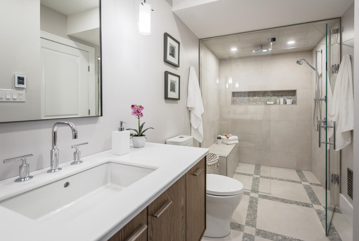 Ванная 6 кв м с душем