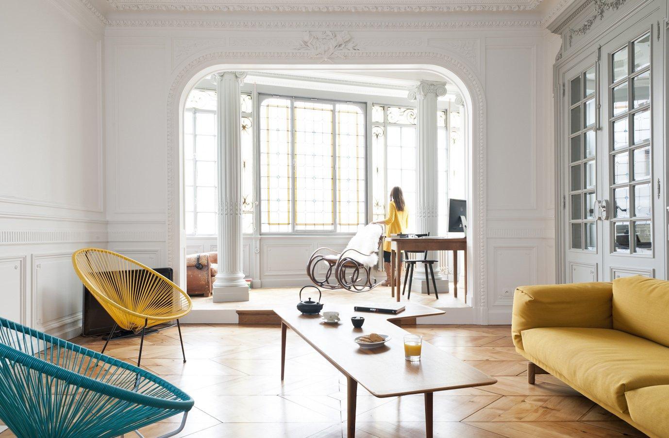 Бюджетный ремонт в однокомнатной квартире с лепниной