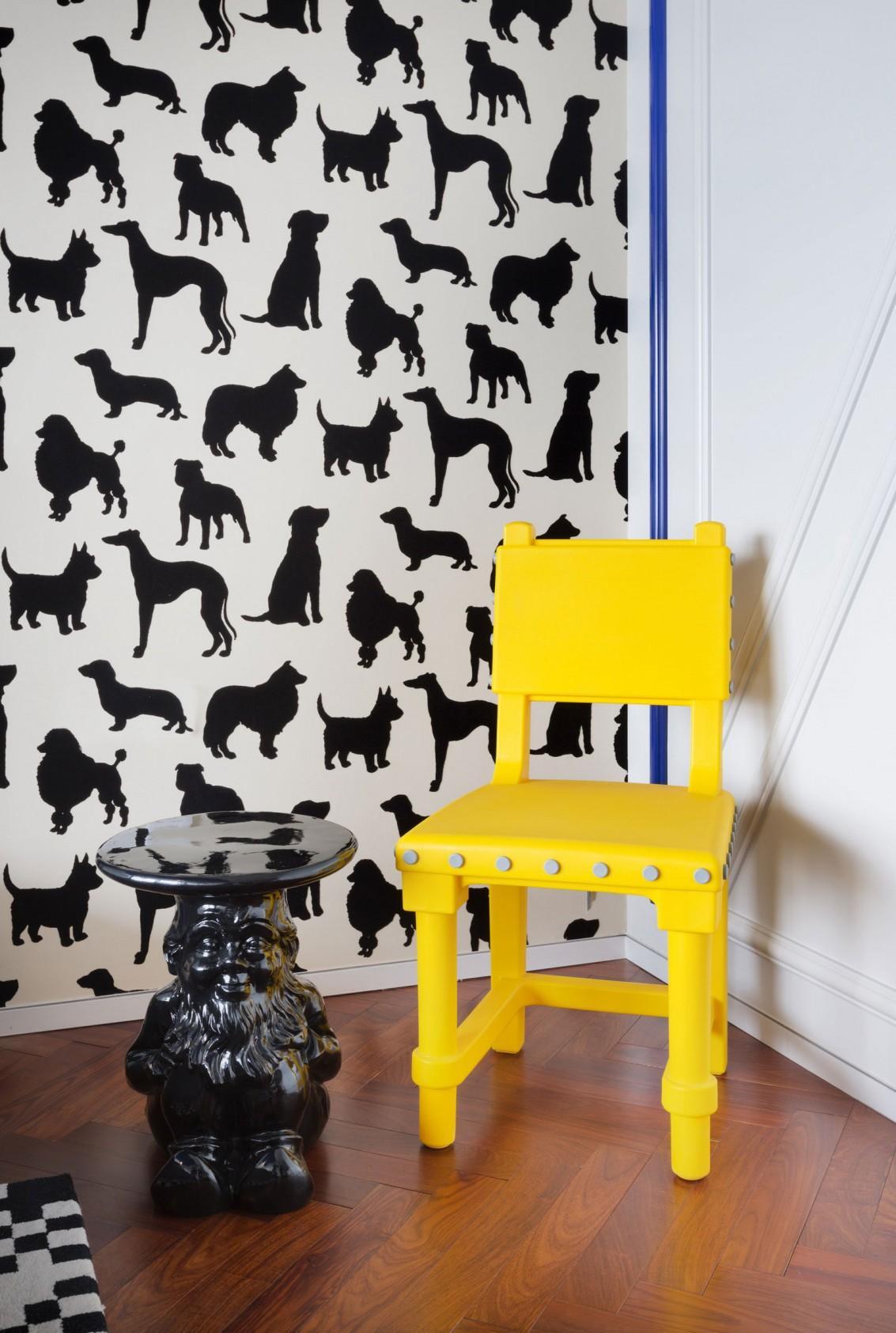 Дизайн обоев с собаками
