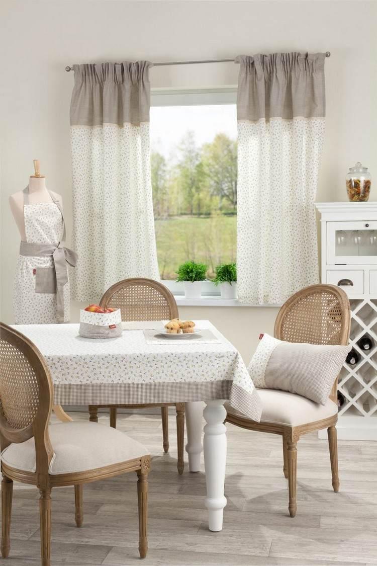 Дизайн штор для кухни короткий