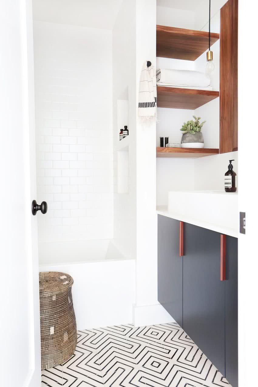 Ванная 6 кв м с мебелью
