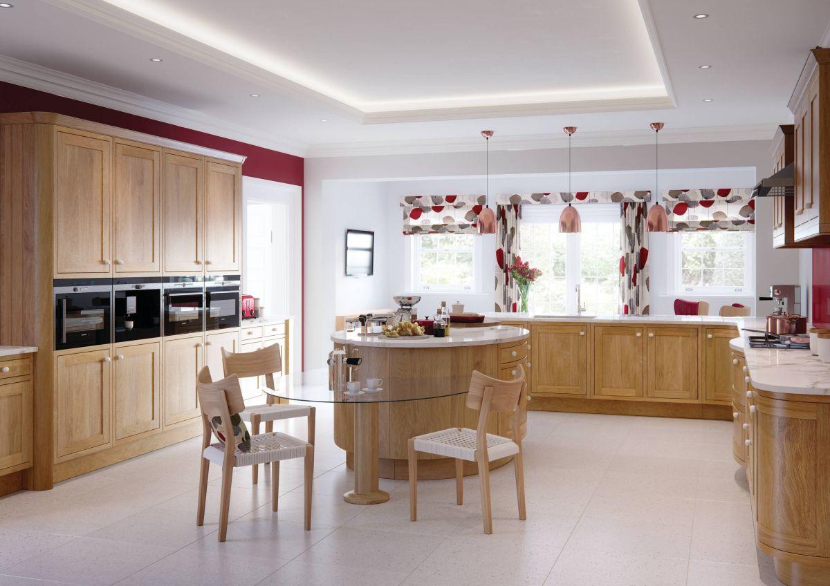 Дизайн штор для кухни в стиле модерн