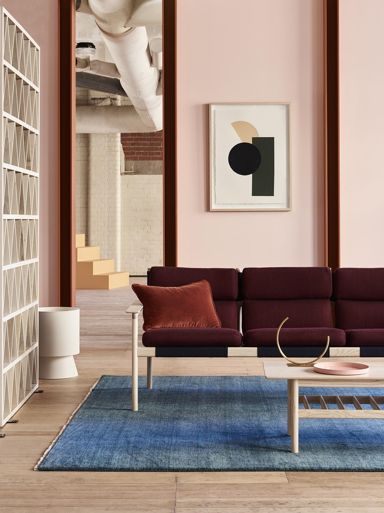 Розовый цвет в стиле модерн