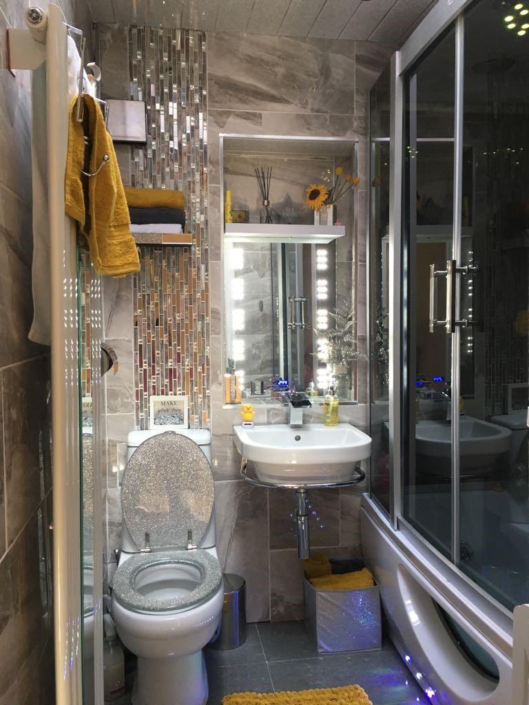 Ванная 6 кв м с подсветкой