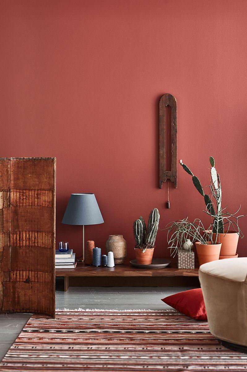 Розовый пудровый цвет в интерьере