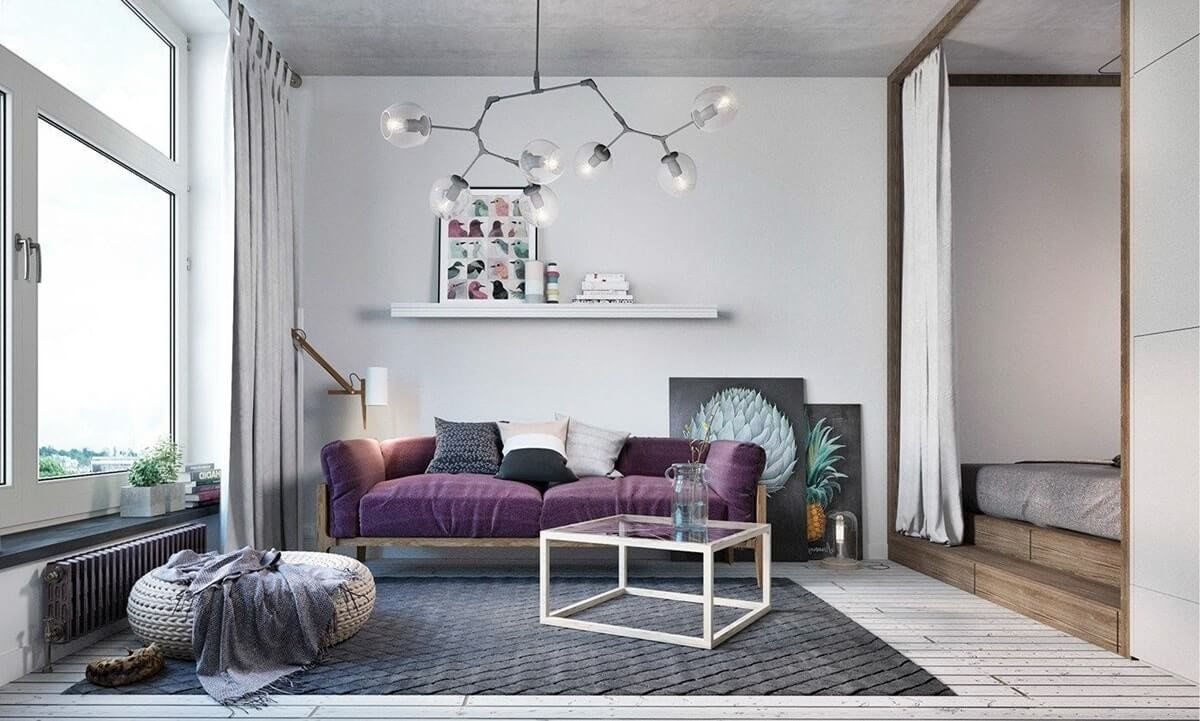 Бюджетный ремонт квартиры в скандинавском стиле