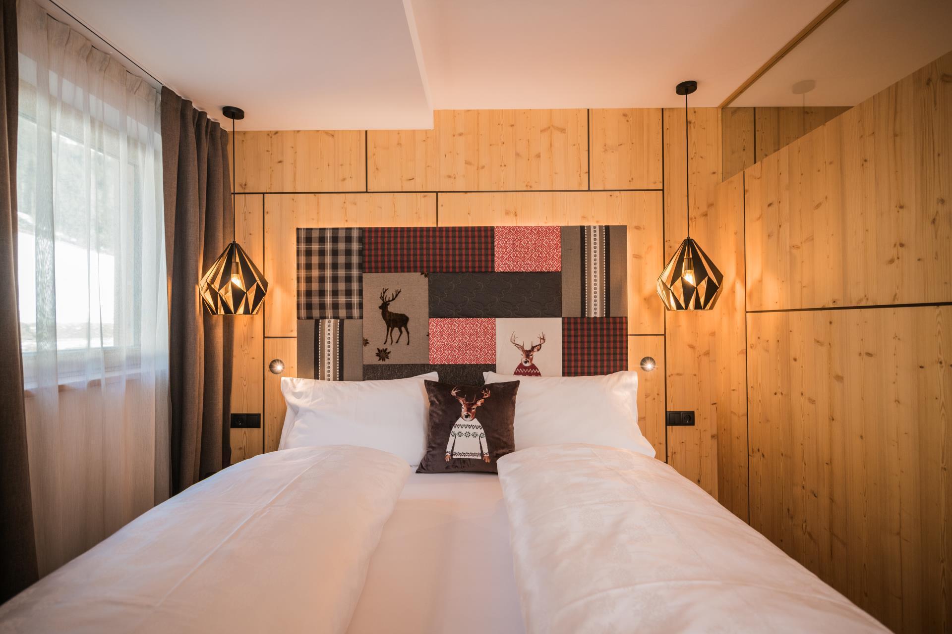 Спальня 12 кв м в скандинавском стиле