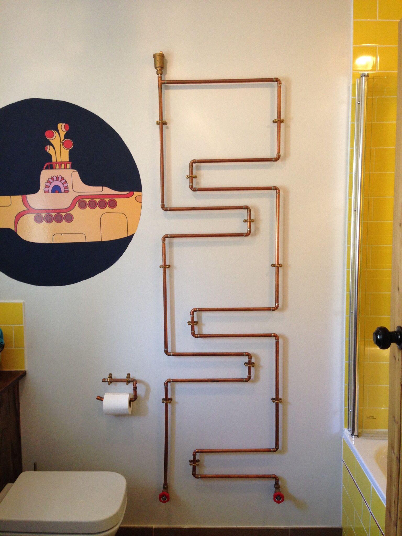 Декоративные трубы