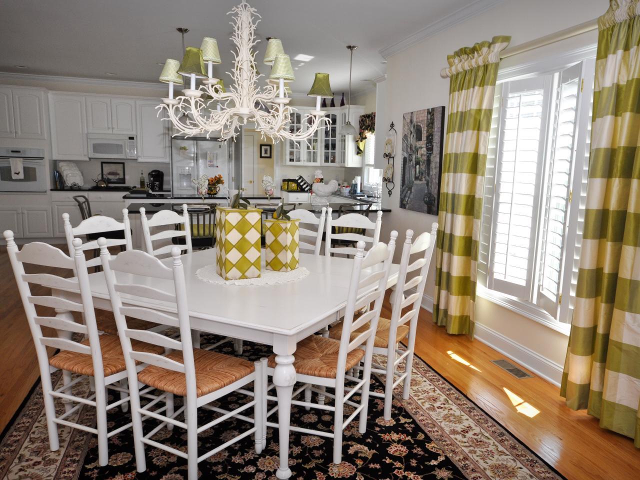 Дизайн штор для кухни в загородном доме