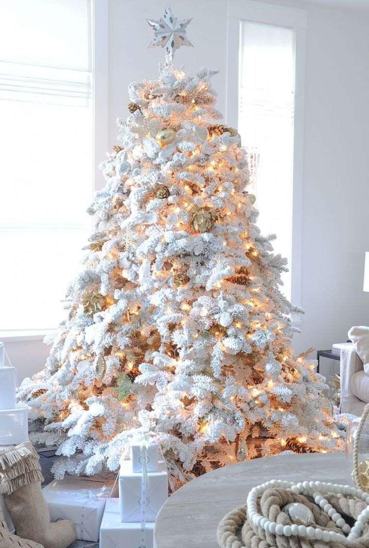 Оформление новогодней елки гирляндой