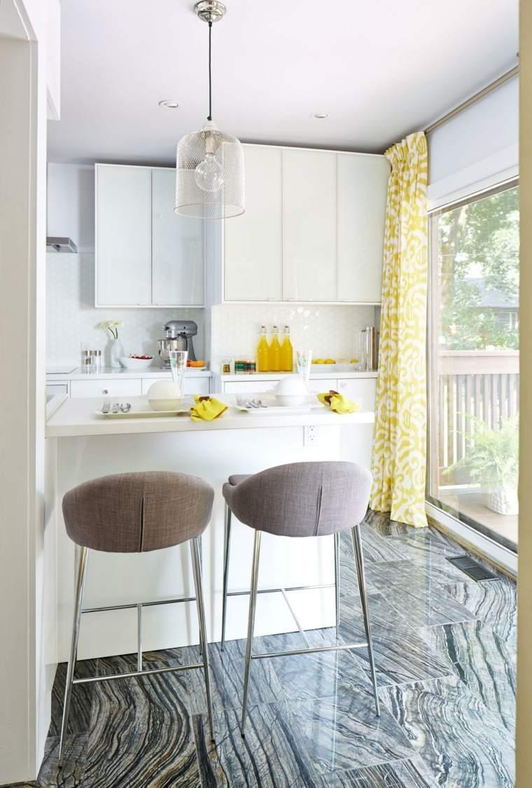 Кухня 7 кв м с французским окном