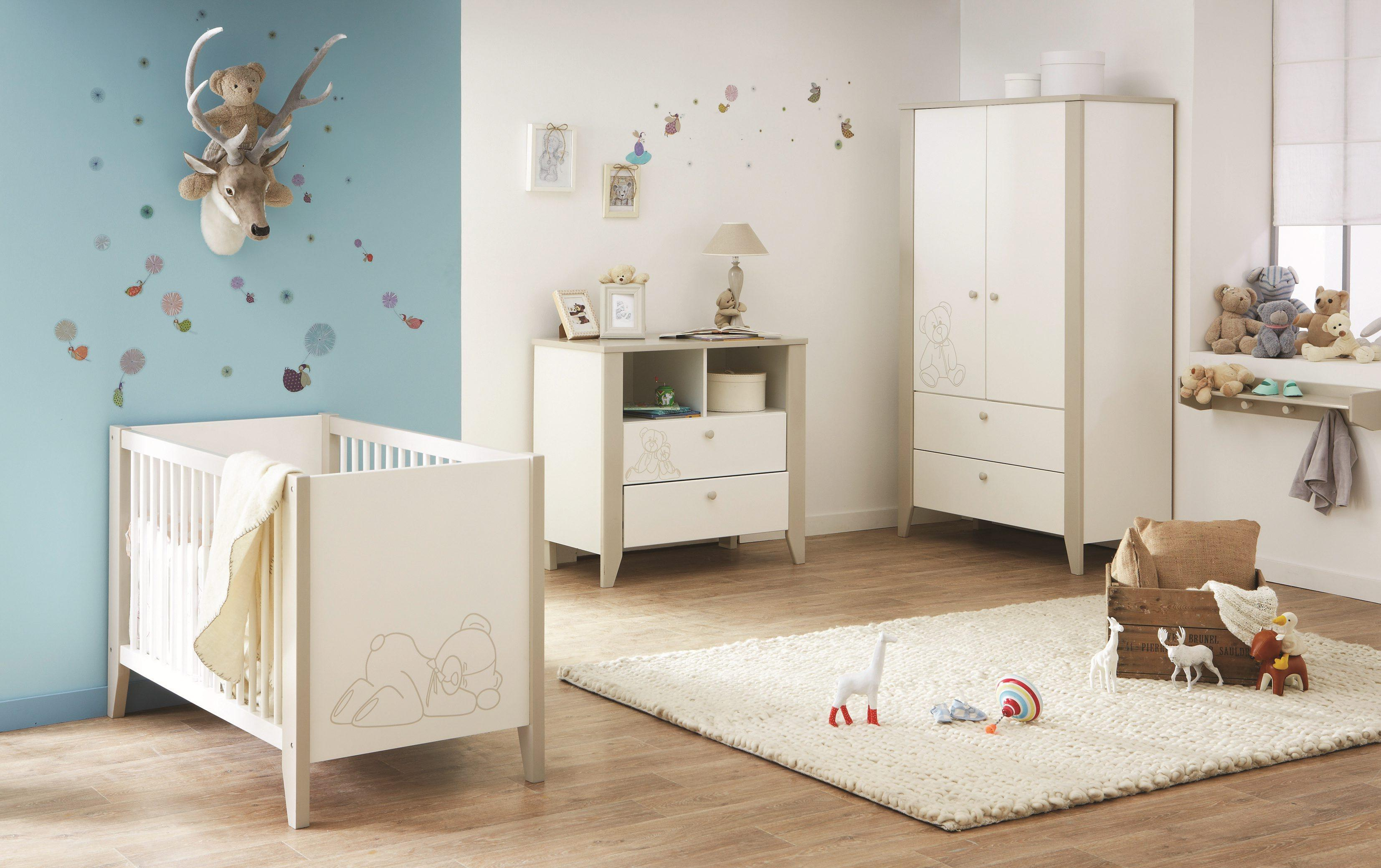 Декор детской кроватки рисунком