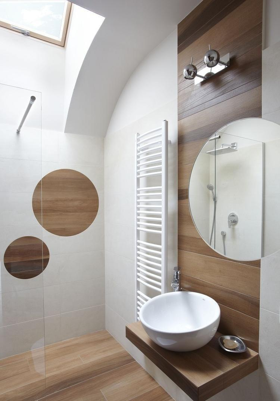 Ванная 9 кв. м в стиле модерн