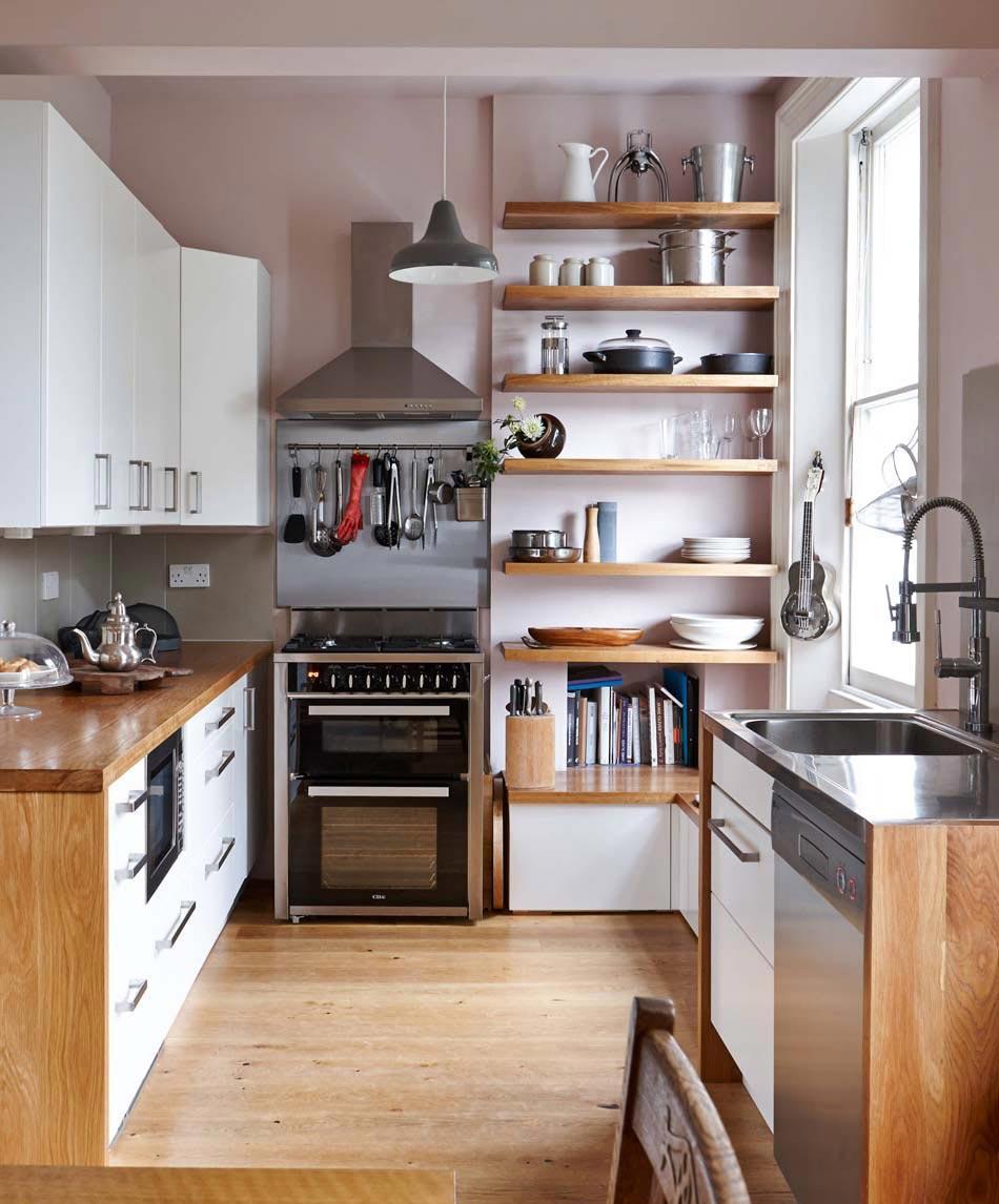 Кухня деревянная 7 кв м