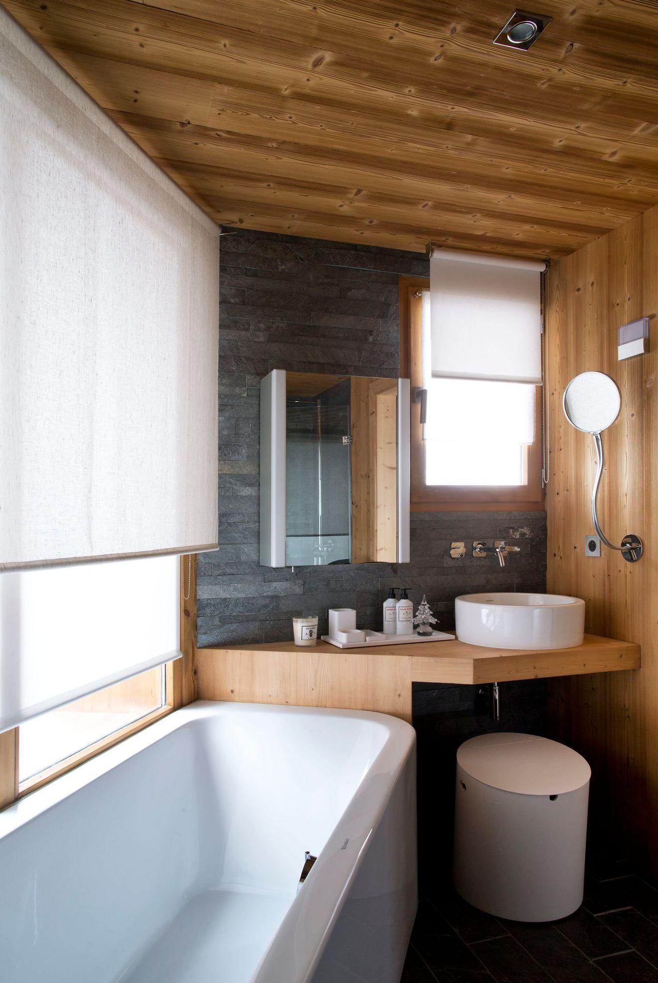 Ванная 9 кв. м в доме