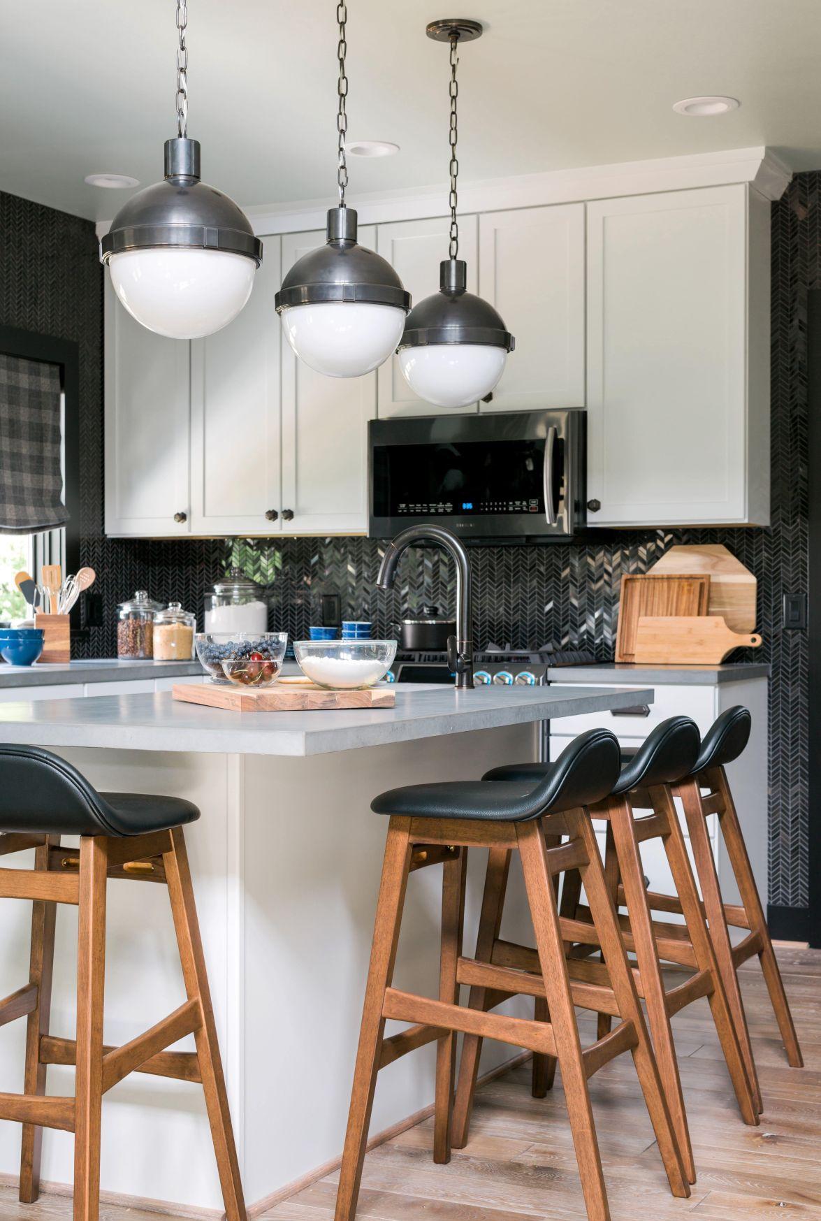 Дизайн кухни с мозаикой 2017