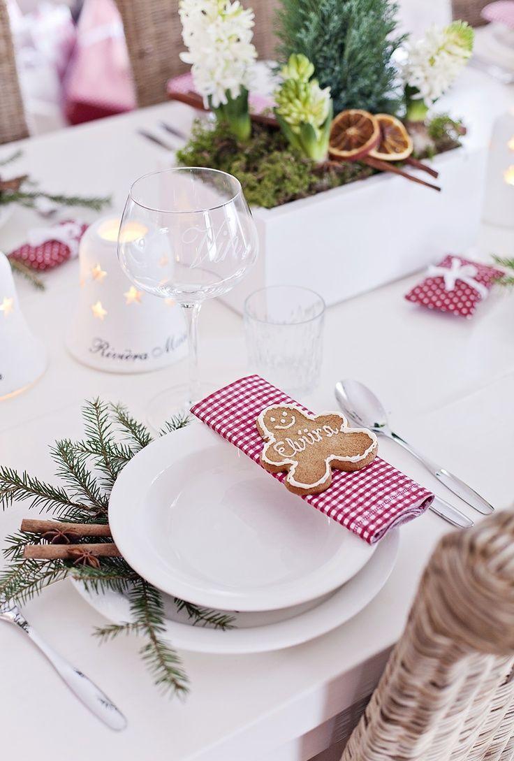 Украшение новогоднего стола 2020 печеньем