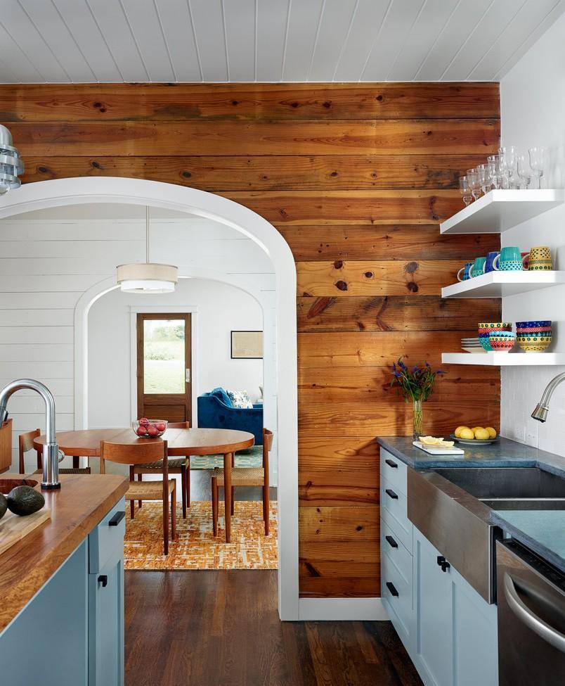 Кухня 7 кв м в стиле кантри