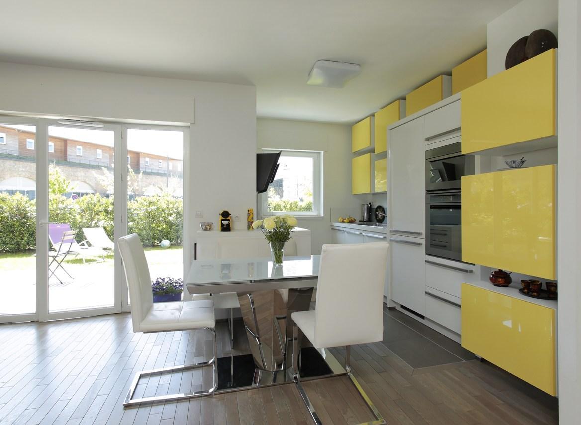 Кухня 7 кв м в стиле модерн