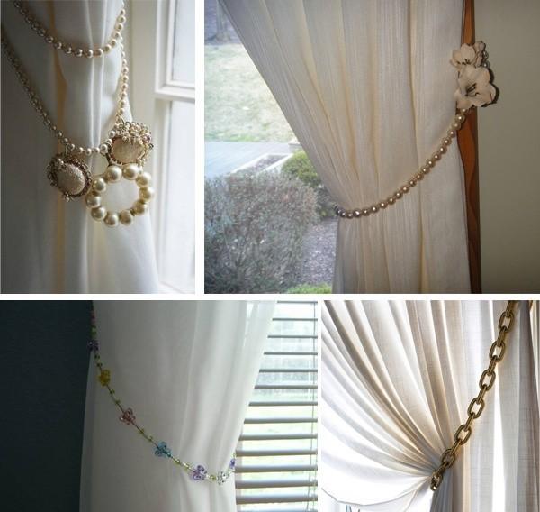 Декоративные подхваты для штор