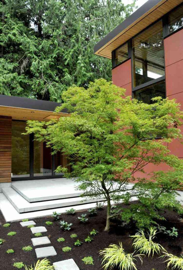 Клумба в японском стиле на даче