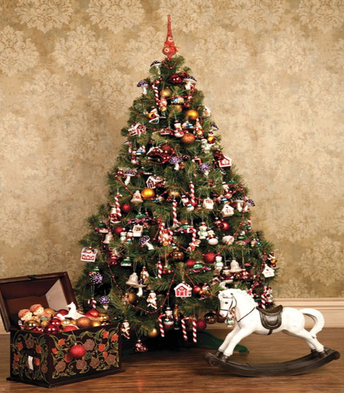Новогодняя елка декор