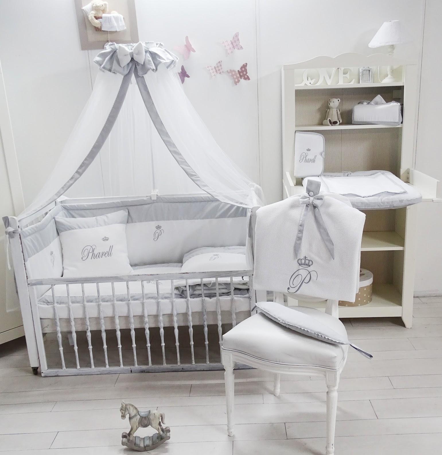 Декор детской кроватки прованс
