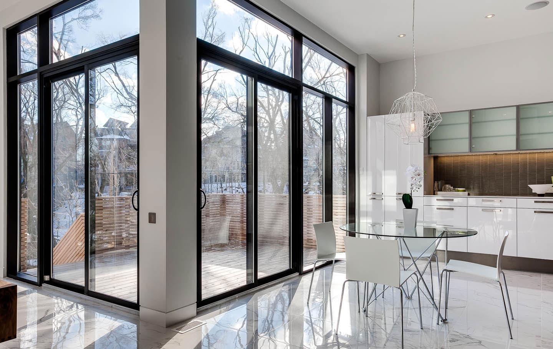 Интерьер дома в стиле хай тек