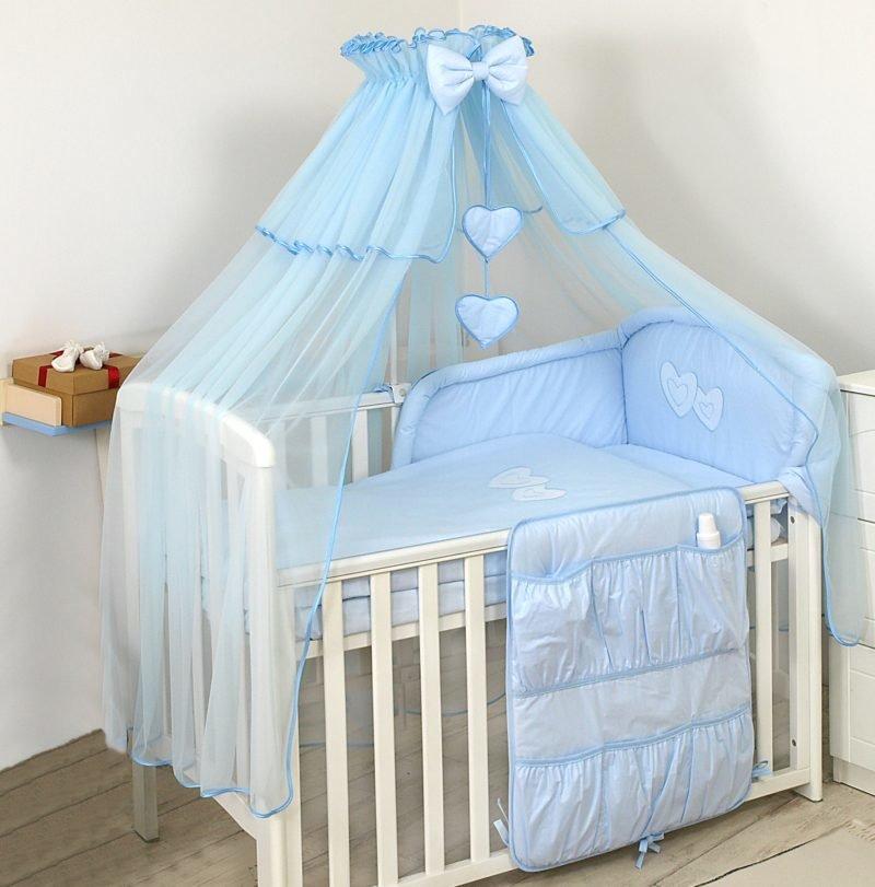 Голубая кроватка для мальчика