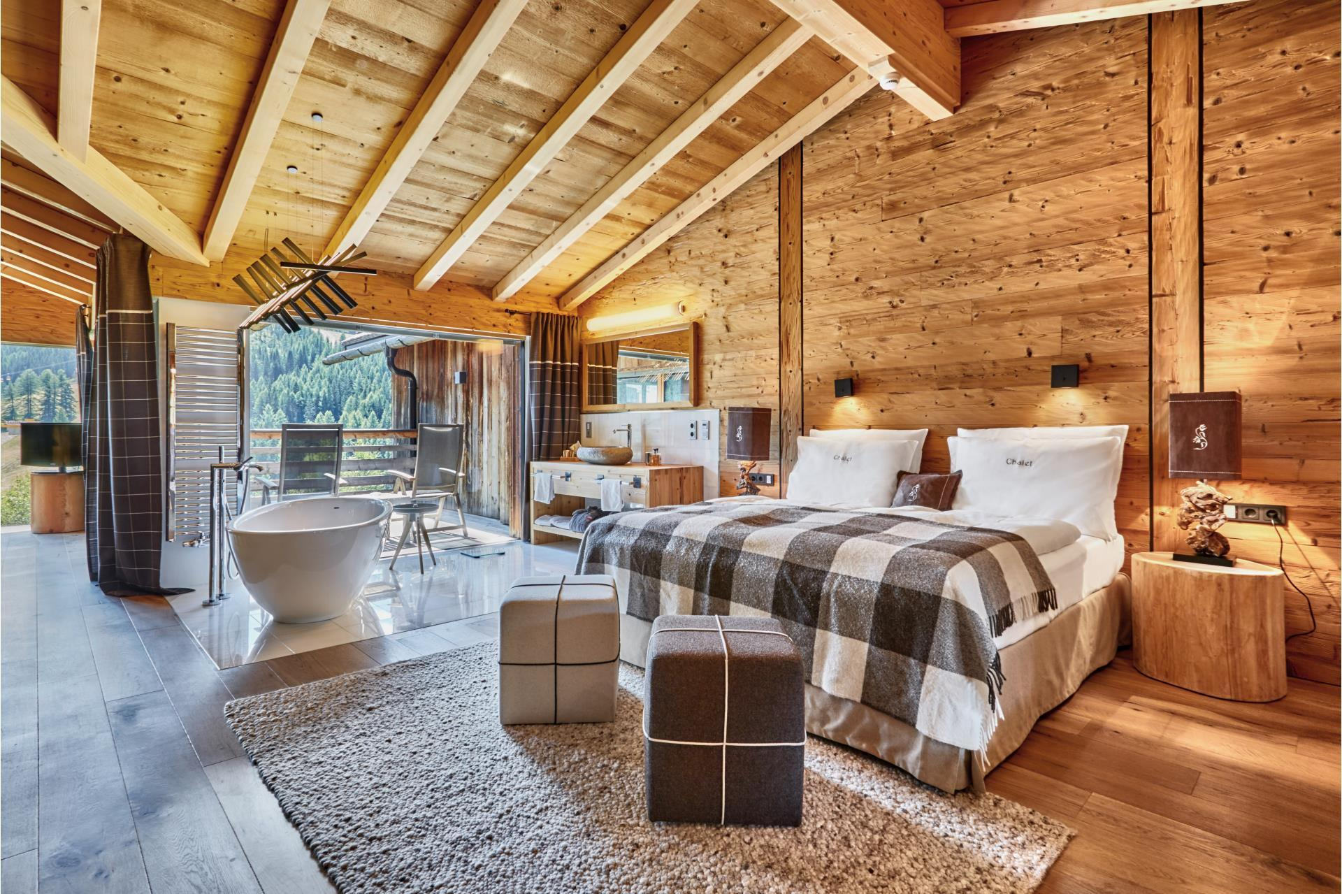 Дом в стиле шале отделка