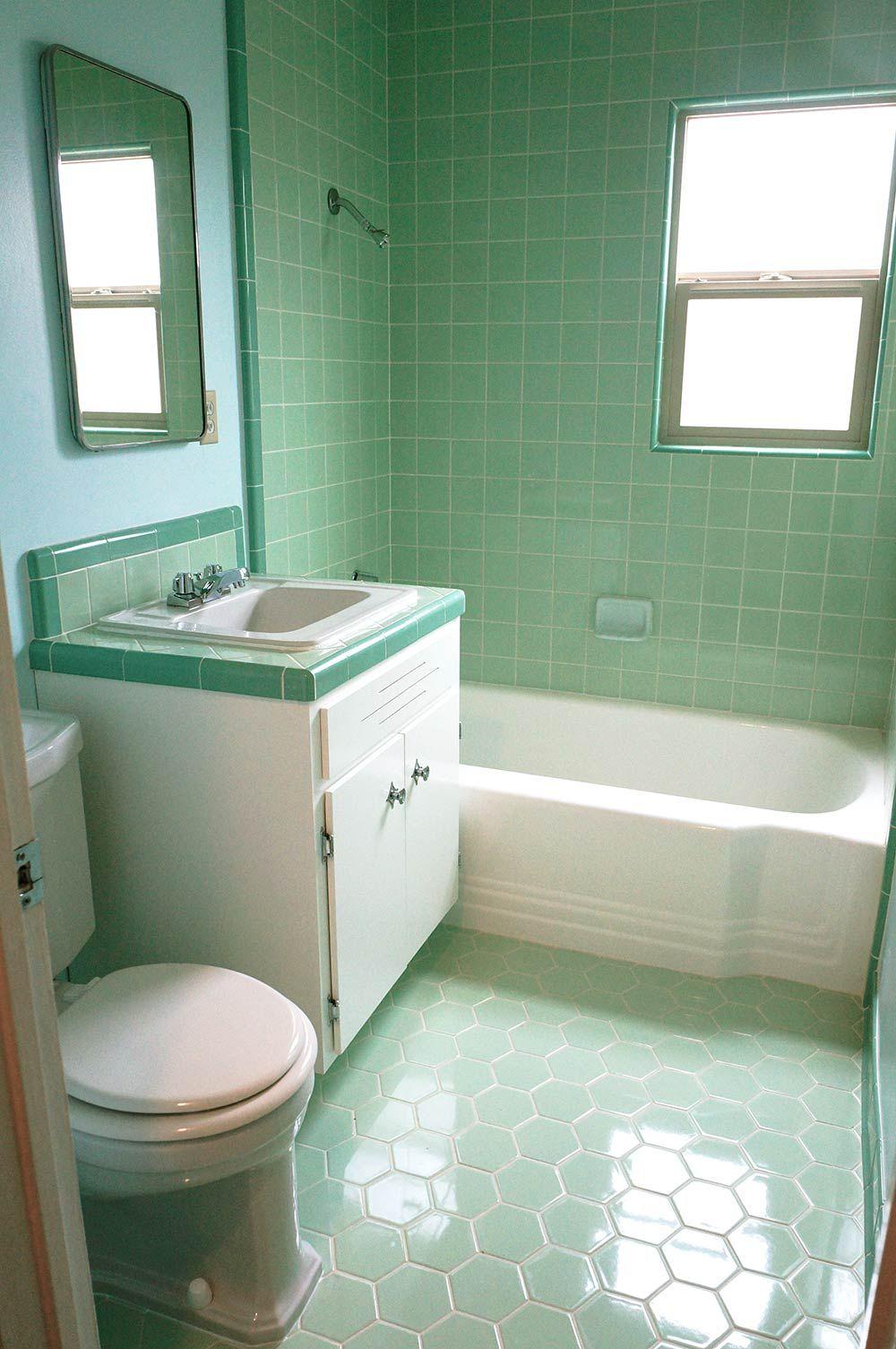 Ванная 9 кв м в стиле ретро