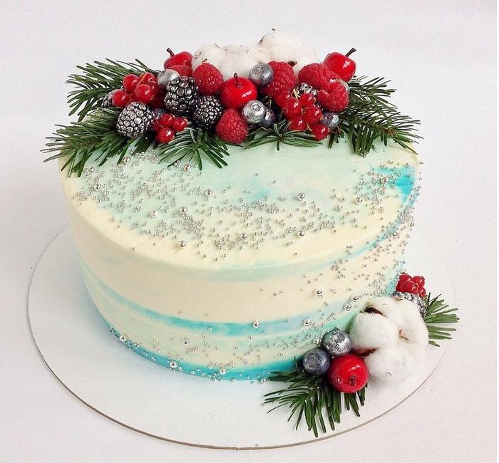 Новогодний десерт и сладкое угощение
