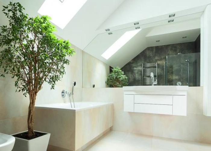 Ванная 9 кв м на мансарде