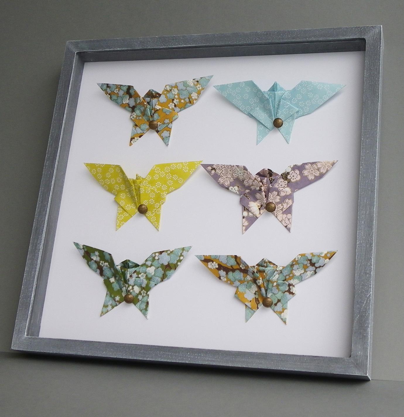 Панно с бабочками